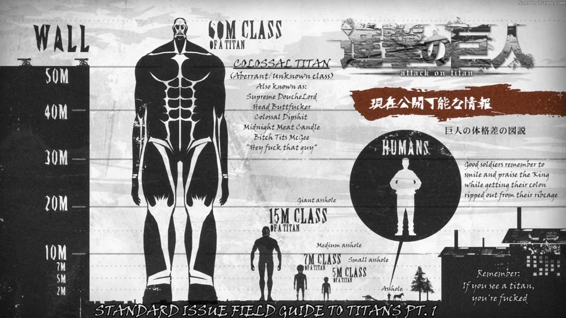 Wallpaper Downloads A Slap On Titan